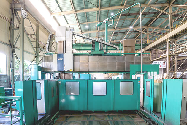 5 axis processing machine