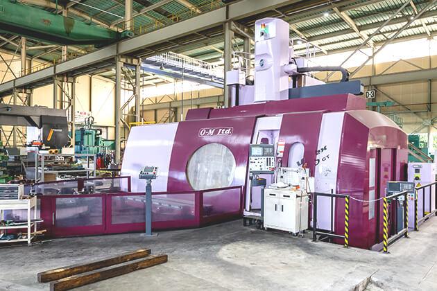 High rigidity CNC machine